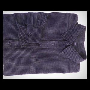 UniQlo Men's Plaid Flannel Shirt